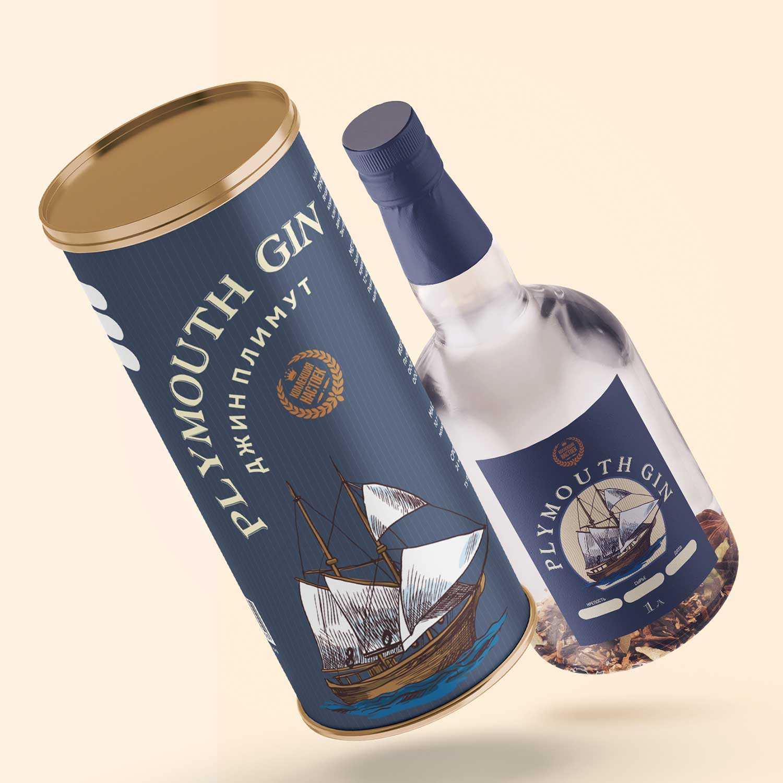 История джин Plymouth gin